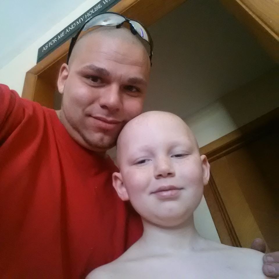 Dad Tattoos His Son's Cancer Scar